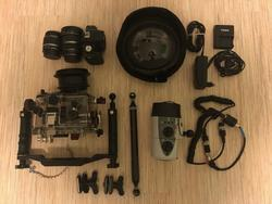 Podvodní Foto set Canon 500D + Ikelite