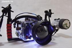 Podvodní Foto set Canon 60D + Ikelite - 1