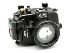 Podvodní pouzdro Meikon pro Canon G5X - 1