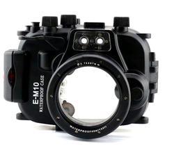 Podvodní pouzdro Meikon pro Olympus E-M10 14-42 mm - 1