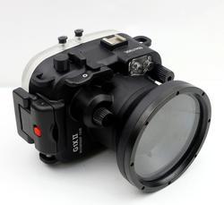 Podvodní pouzdro Meikon pro Canon G1X II - 1