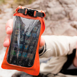 Mini Stormproof Phone Case (orange) - 1
