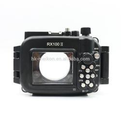 Podvodní pouzdro Meikon (hliník) pro Sony RX100-II - 2