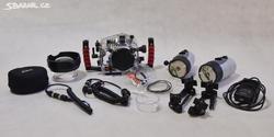 Podvodní Foto set Canon 60D + Ikelite - 3