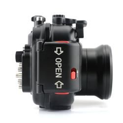 Podvodní pouzdro Meikon (hliník) pro Canon powershot G15 - 3